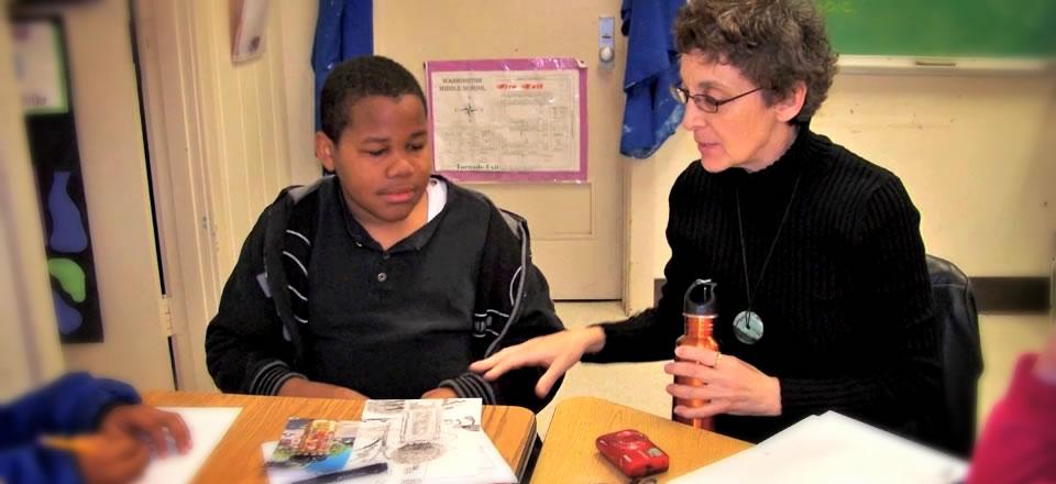 Maris Botti-Villegas Teaching a Student