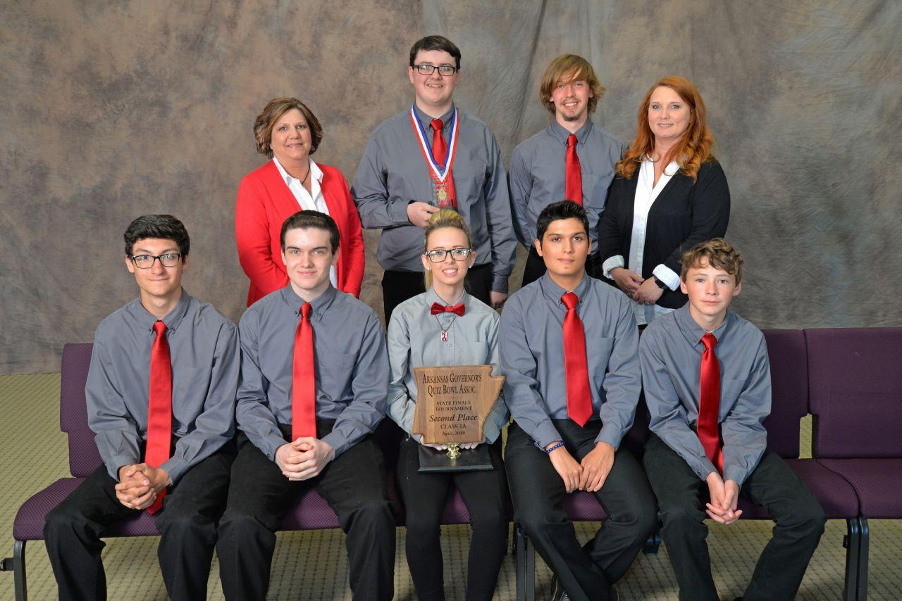 Norfork 1A Quiz Bowl Runner-up 2018