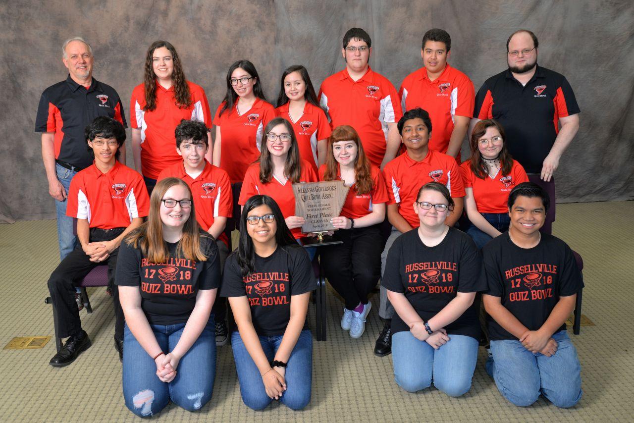 Russellville High School 6A Quiz Bowl Champs 2018