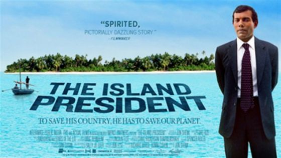 """The Island President"" AETN Community Cinema Screenings will be held in North Little Rock Tuesday, April 2, and in Fayetteville Sunday, April 21."