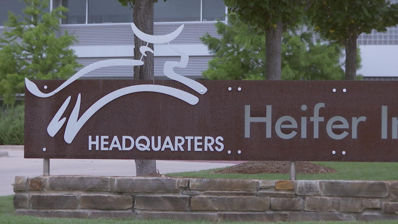 HeiferHeadquartersSign