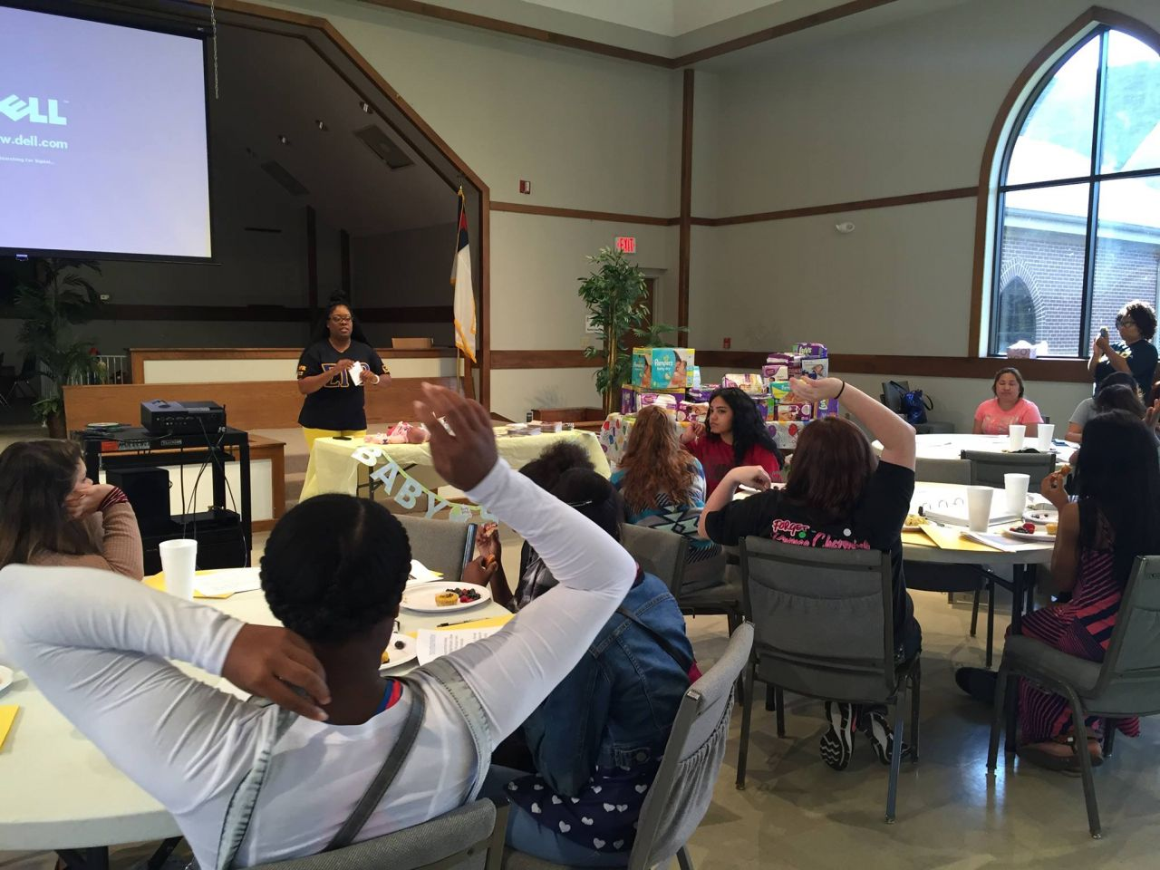 PBS NewsHour Weekend Conway Cradle Care Class