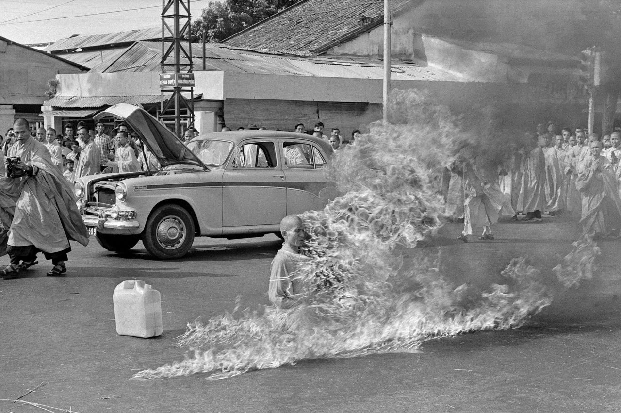 The Demystified Zone Thich Quang Duc Self Immolation