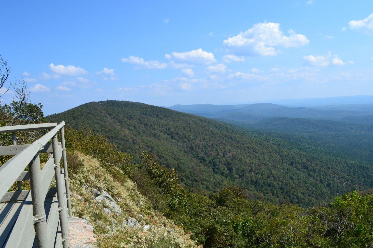 Exploring Arkansas Lovers' Leap Overlook