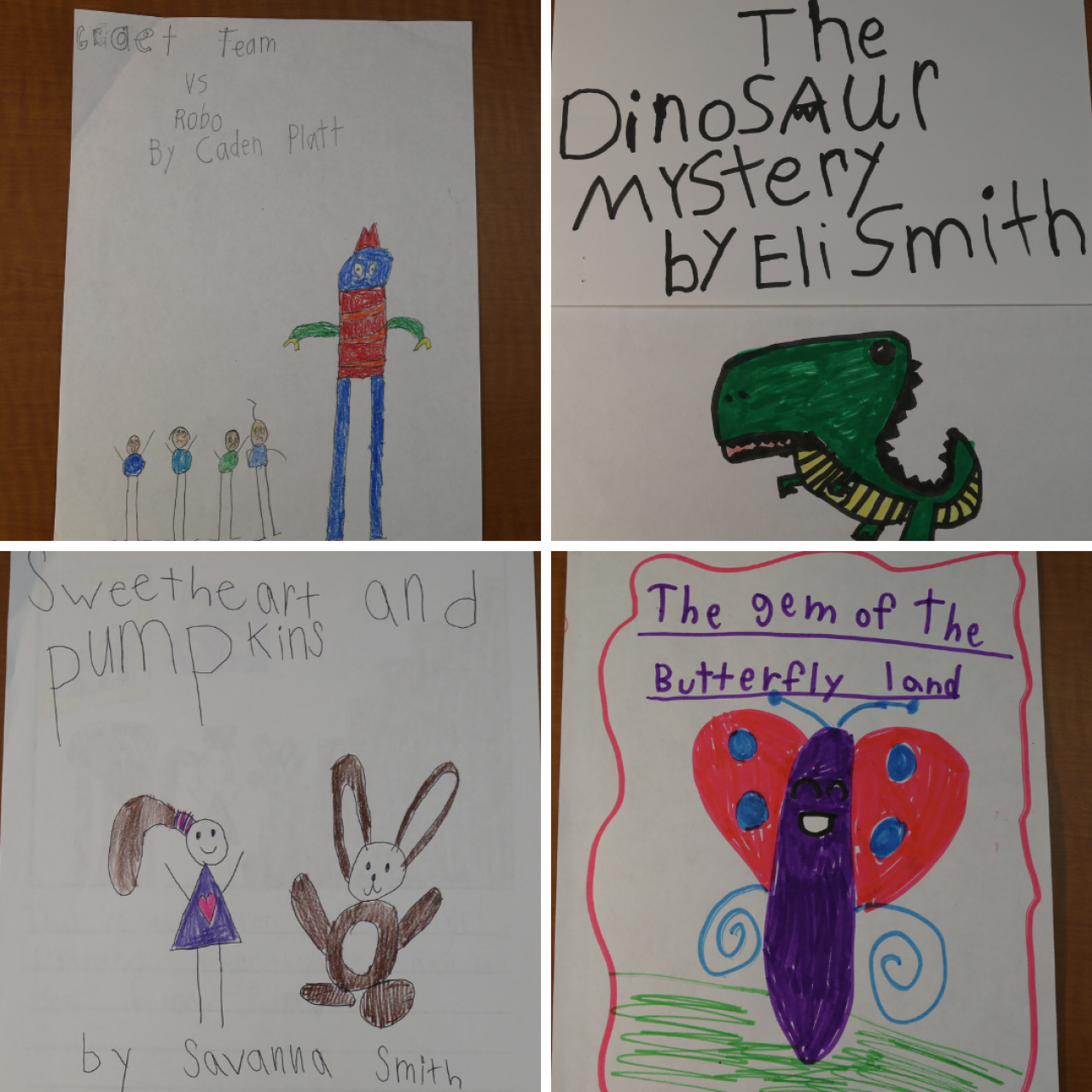 2021 Arkansas PBS KIDS Writers Contest 1st Grade Winners