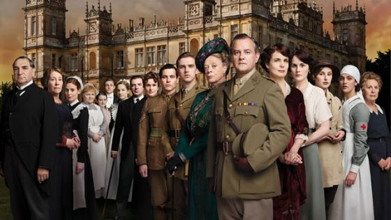 Downton Abbey graphic