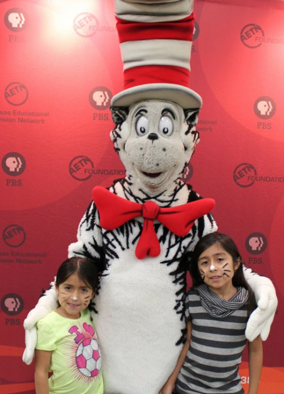 Cat in the Hat Visits Rogers, Ark., 2012
