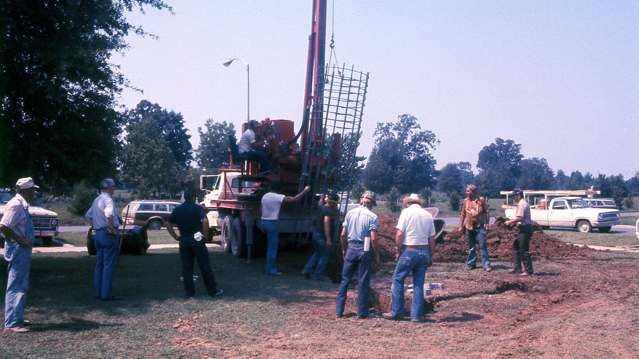 Tower Being Erected