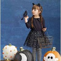 Little girl dressed for Halloween