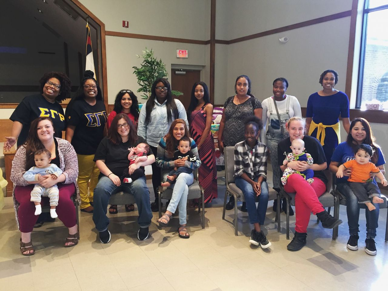 PBS NewsHour Weekend Conway Cradle Care Large Group