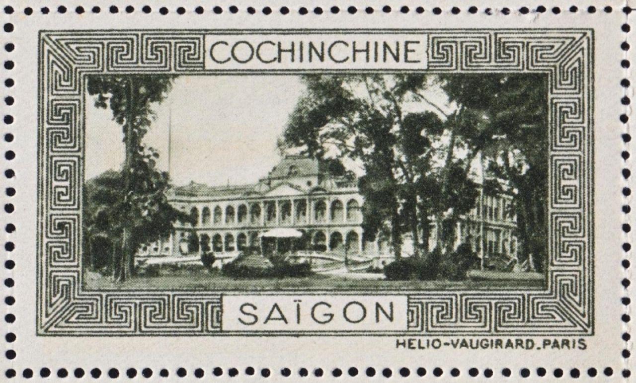Stamp Celebrating French Indochina