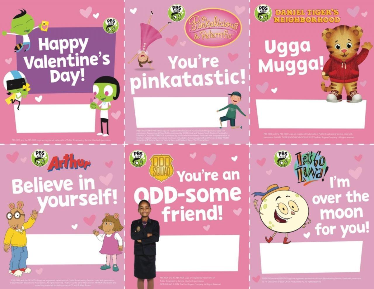 PBS KIDS Valentine Printables
