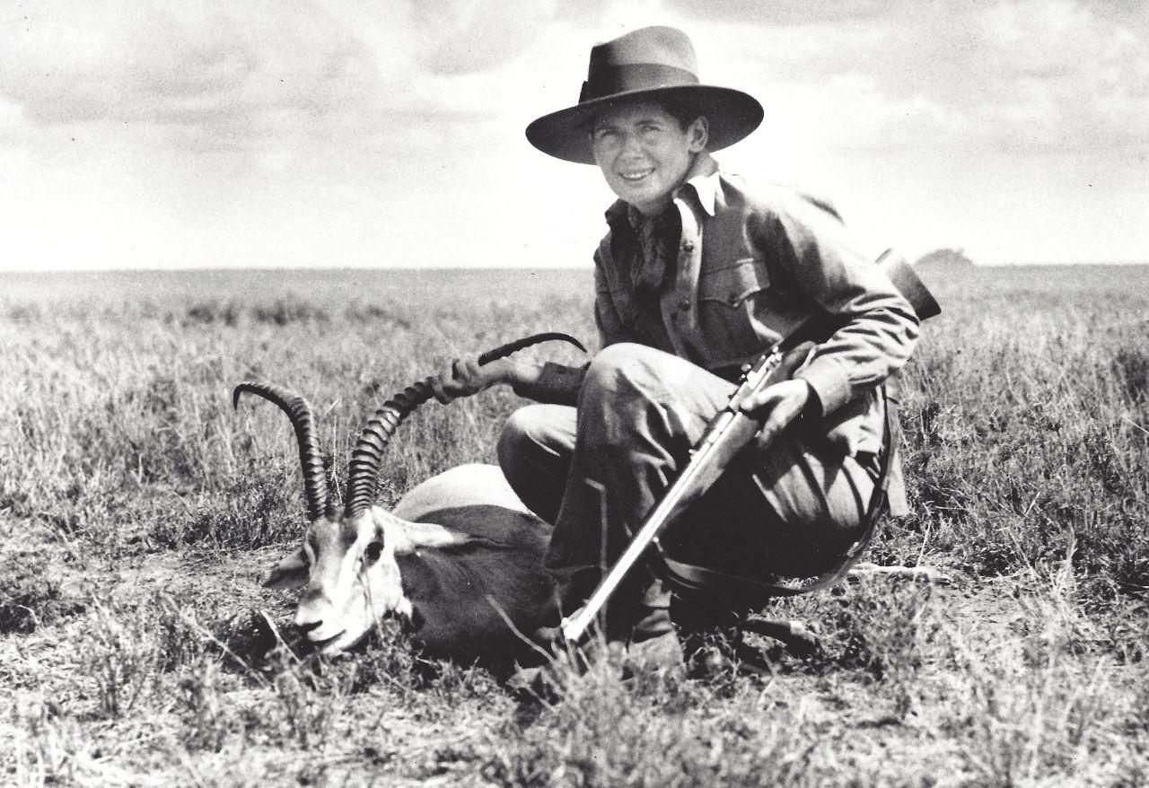 Pauline Pfeiffer Hemingway on safari, 1933-34, courtesy of the John F. Kennedy Library.