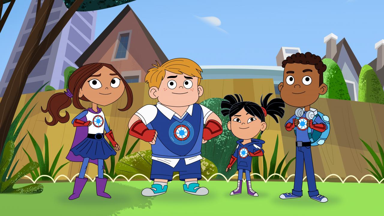Hero Elementary Sparks Crew