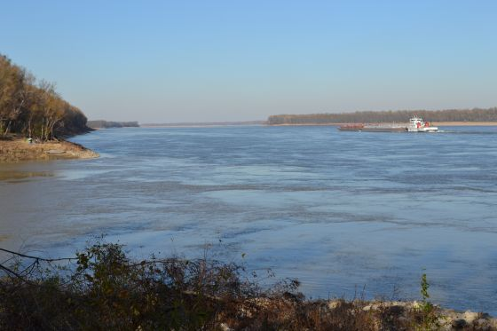 View of the Mississippi Great River Road