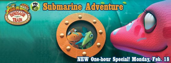 """Dinosaur Train: Submarine Adventure"""