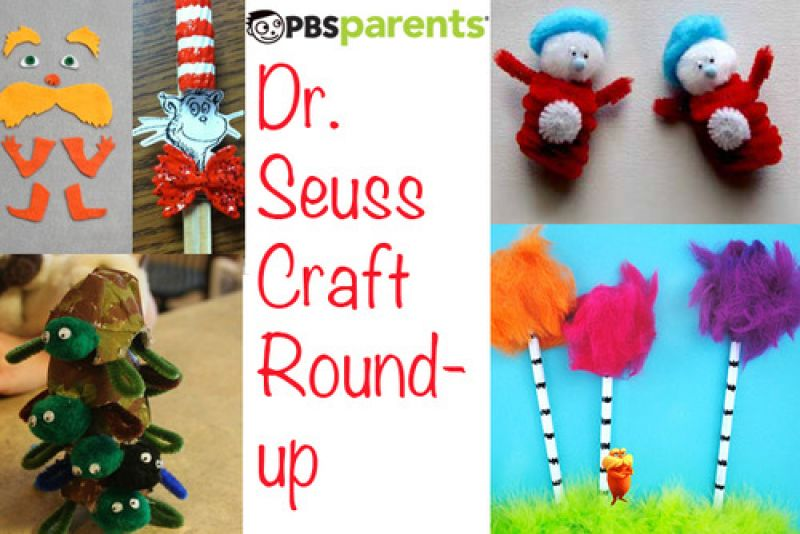 PBS Parents Dr. Seuss Craft Roundup