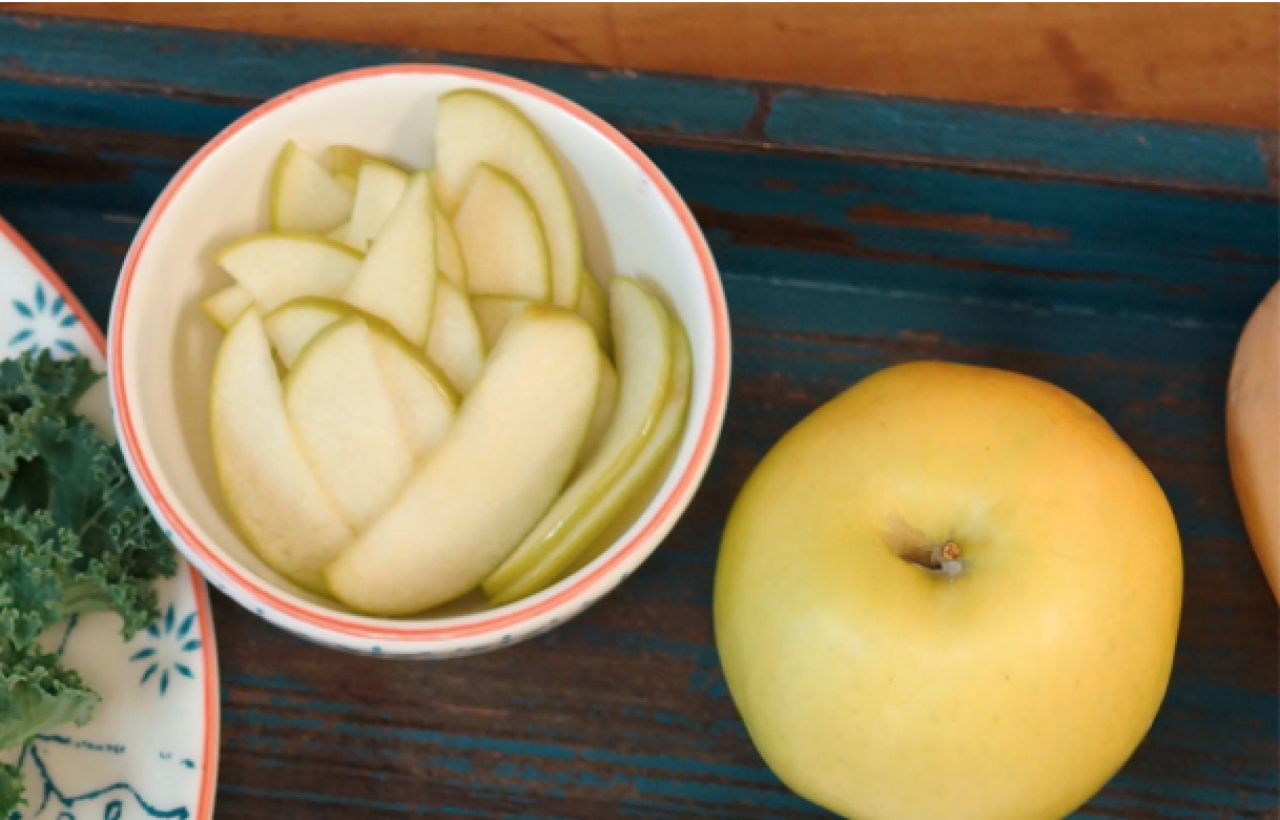 Cook With Brooks Pickled Apples Ingredients