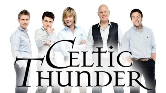 Celtic Thunder Voyage Concert, Thursday, Nov. 15, at 7:30 p.m.