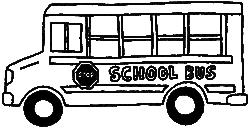 Drawing of School Bus