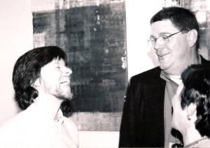 Allen Weatherly and Ken Burns