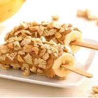 Peanut Butter Banana Pops