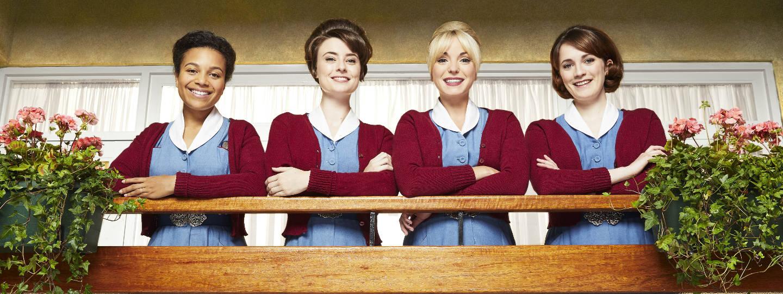 Leonie Elliott as Lucille, Jennifer Kirby as Valerie, Helen George as Trixie, Charlotte Ritchie as Barbara
