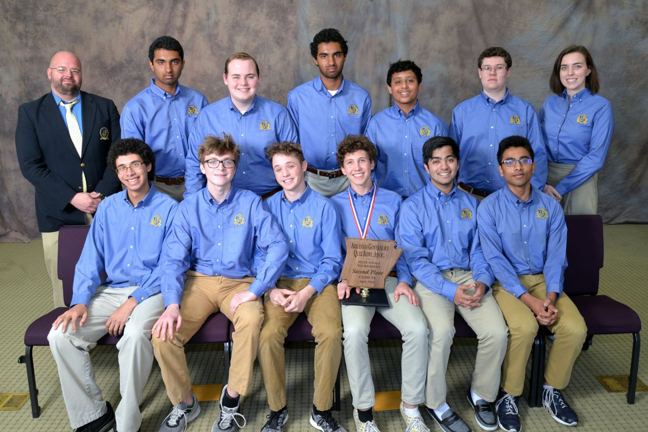 Haas Hall Academy Fayetteville 3A Quiz Bowl Runner-up 2018