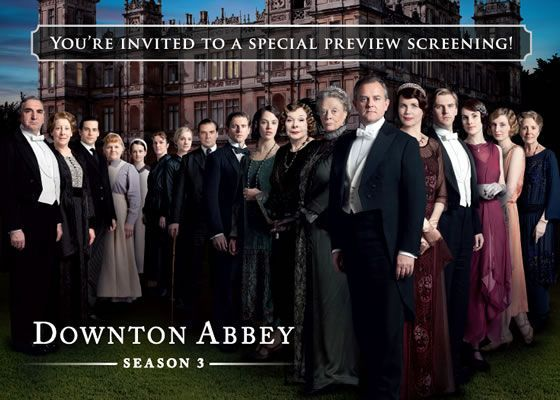 Downton Abbey Season 3 Jazz Age Cocktail Reception and Screening