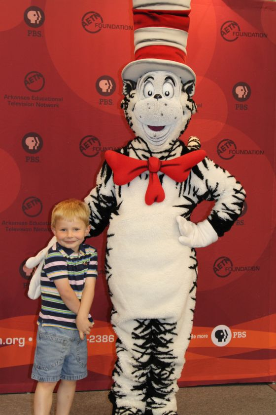 Cat in the Hat Visits Fort Smith, Ark., 2012