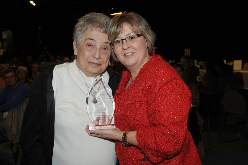 Nancy Chappell, Jane Krutz Volunteer Service Award-winner