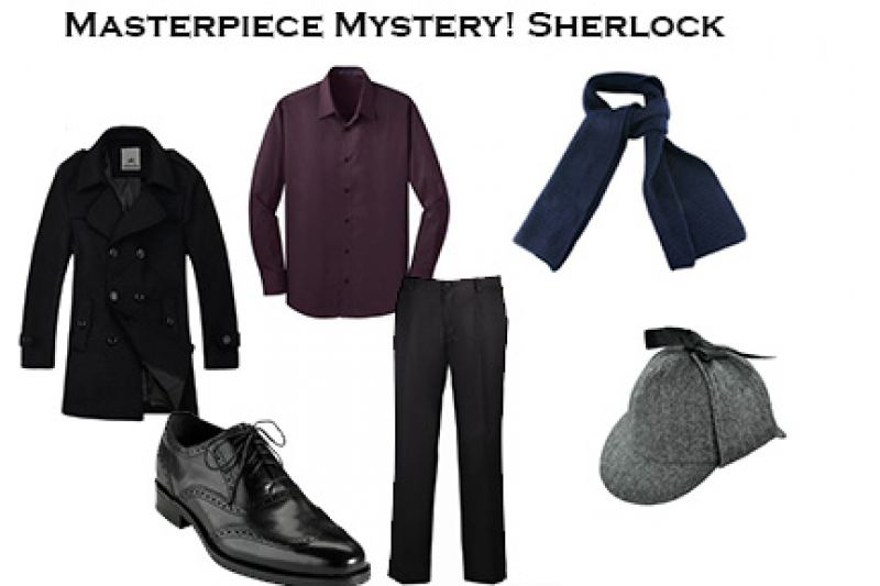 Halloween Inspiration - Masterpiece Mystery! Sherlock