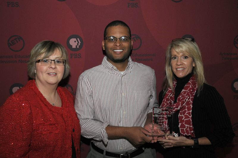 Eric Fulton, Arkansas PBS Foundaion Volunteer of the Year 2013