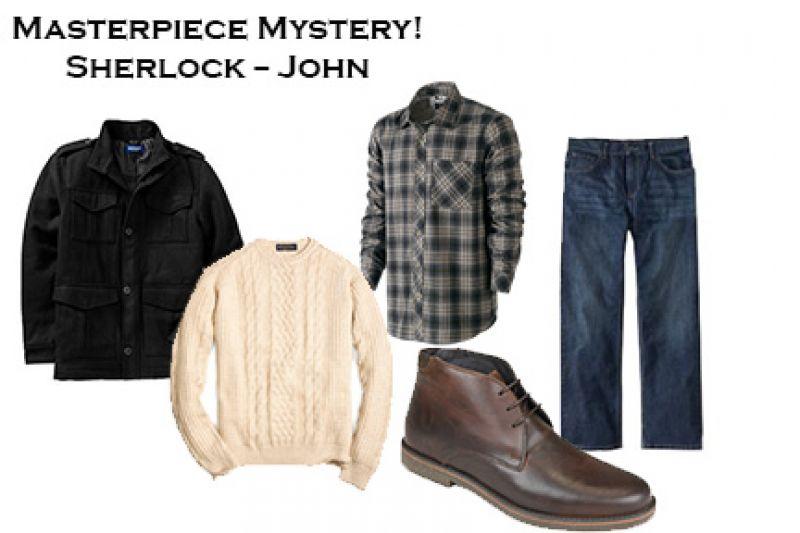 Halloween Inspiration - Masterpiece Mystery! Sherlock: John