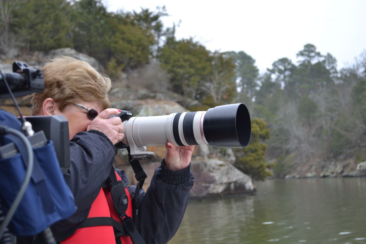 Exploring Arkansas Lake Dardanelle Eagle Watching