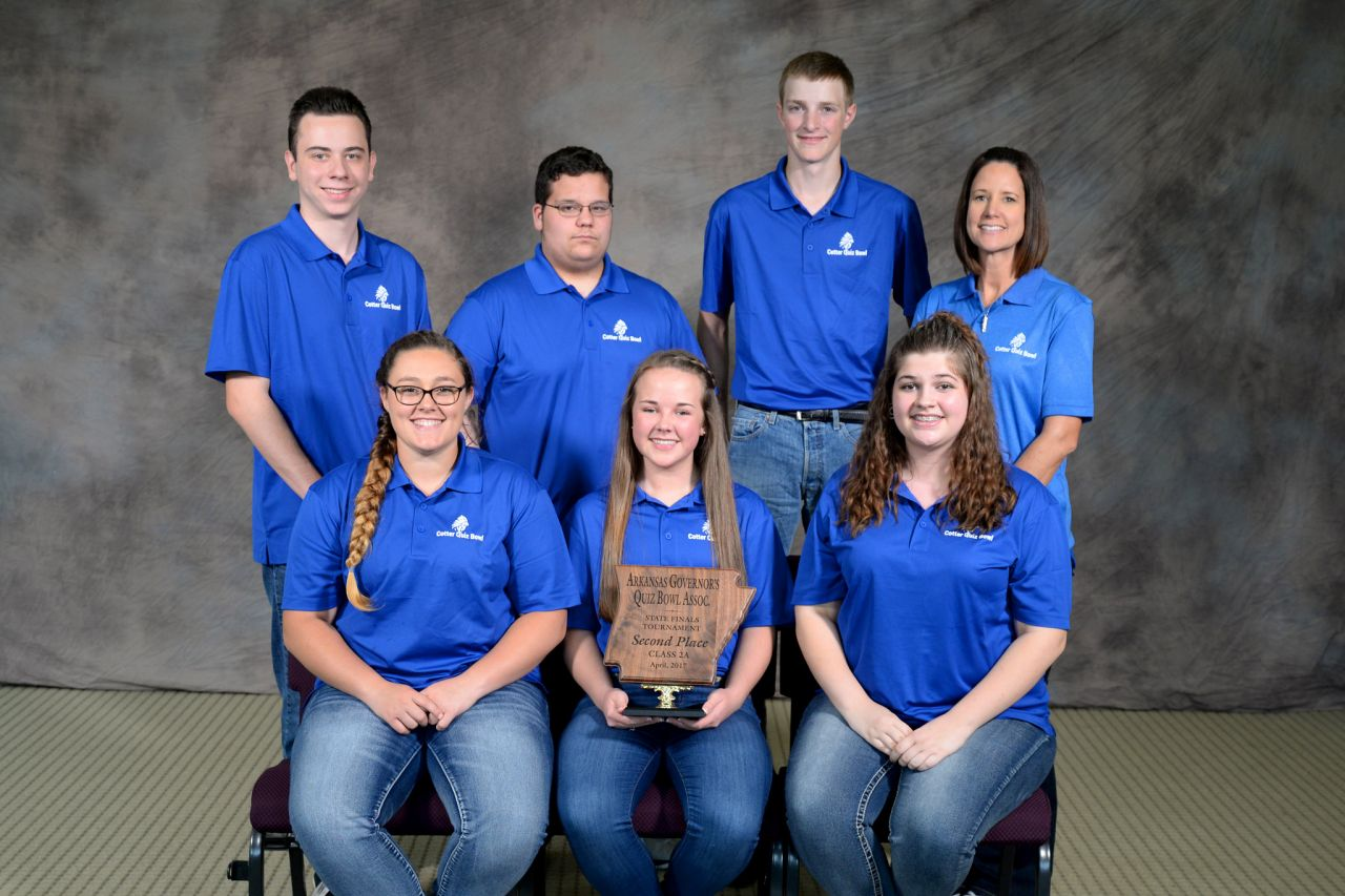 Cotter 2A Quiz Bowl Runner-up 2017