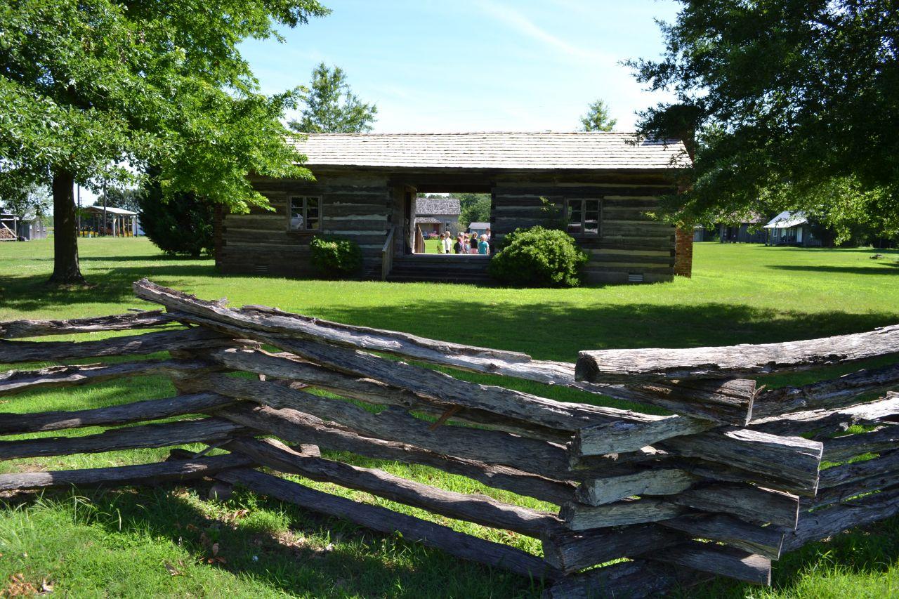 Exploring Arkansas Scott Plantation Settlement