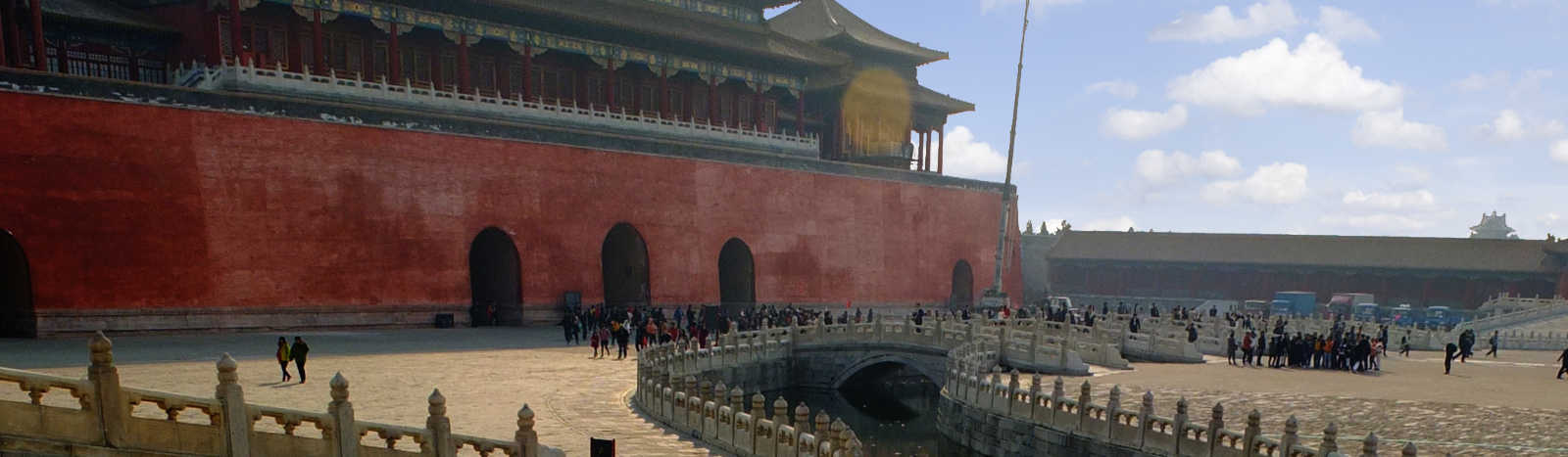 The Meridian Gate, The Forbidden City.