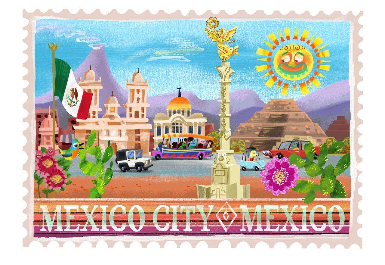 Let's Go Luna Mexico City