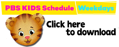 Download PBS Kids Schedule