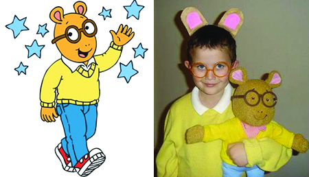 DIY_Arthur_Costume  sc 1 st  AETN & AETN - AETN Battle of the Pumpkins - DIY PBS KIDS Costume Ideas
