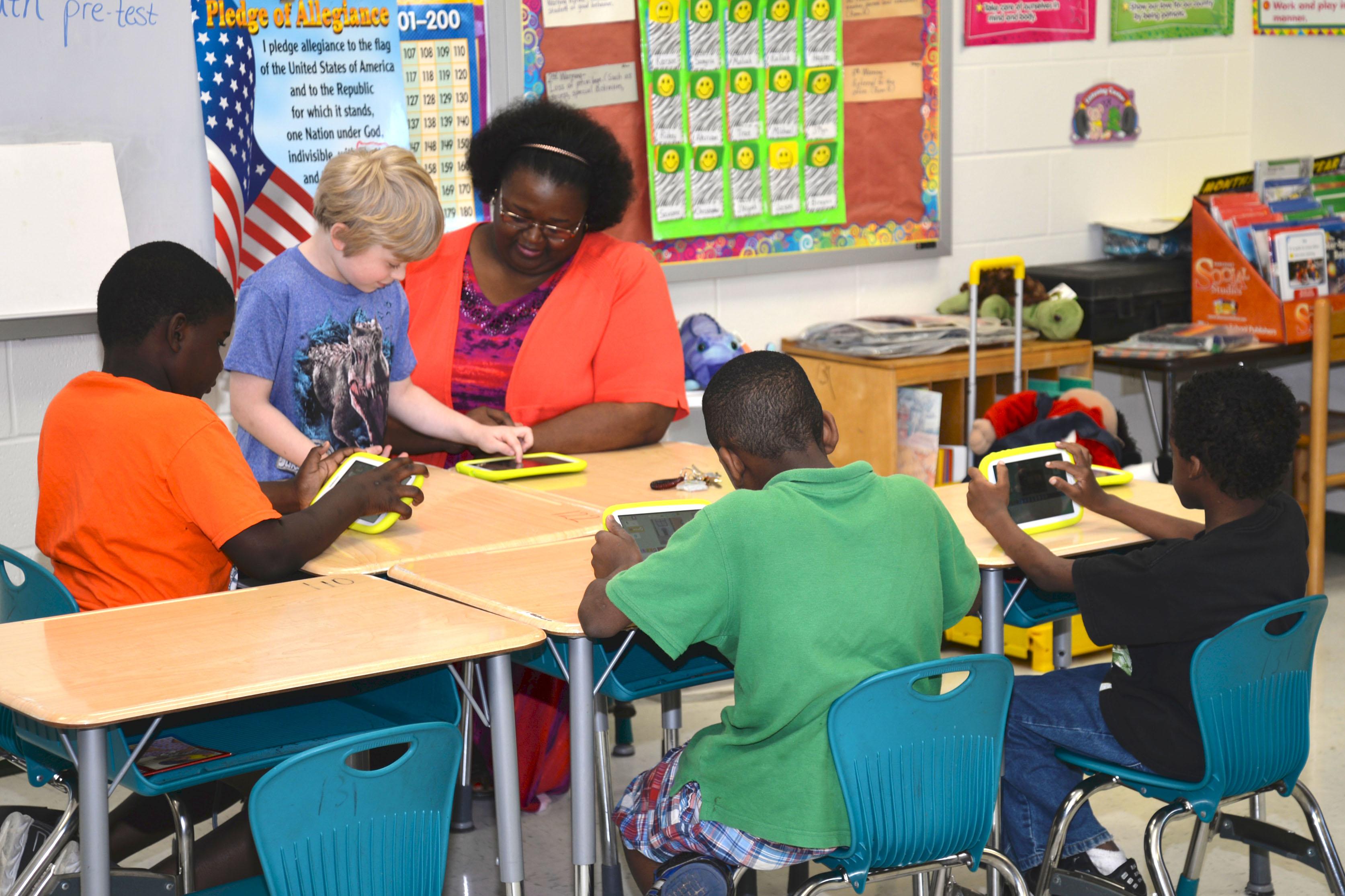 PBS KIDS ScratchJr Pine Bluff Group Work