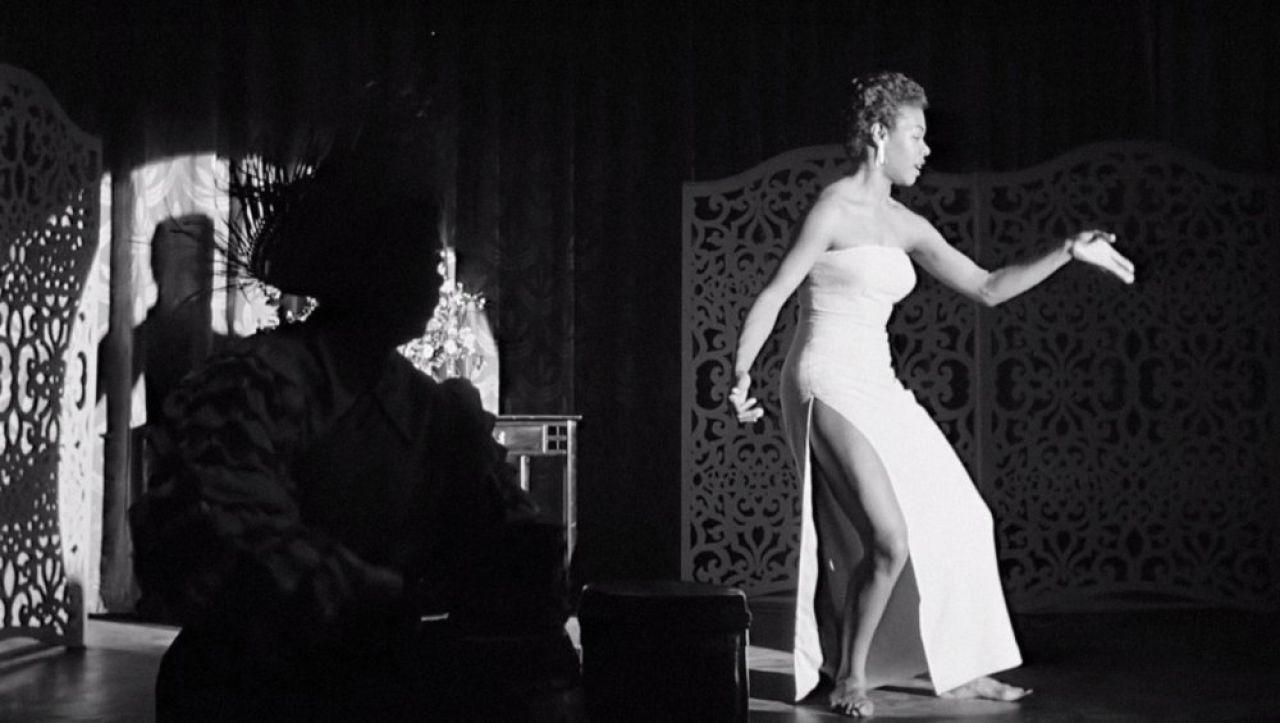 Young Maya Angelou Dancing