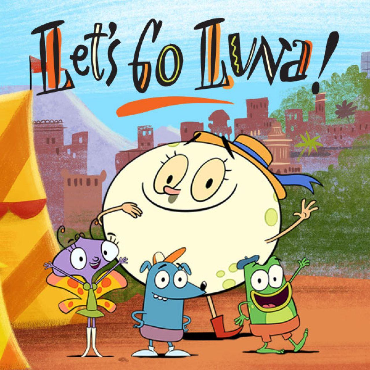 Let's Go Luna Characters