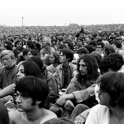 kids attending the woodstock fextival