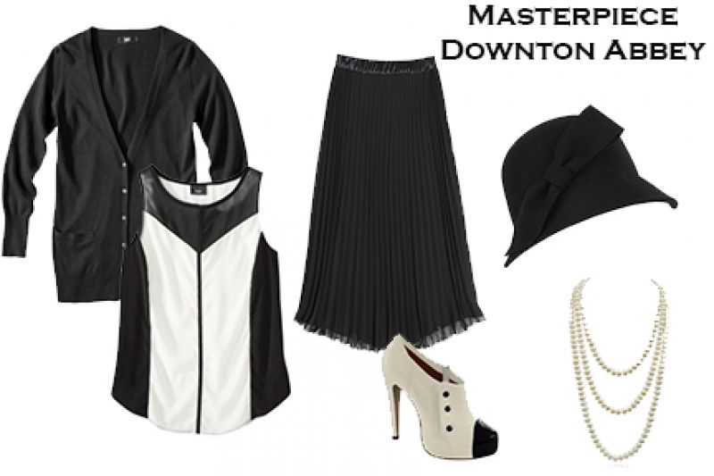 Halloween Inspiration - Masterpiece Theater Downton Abbey