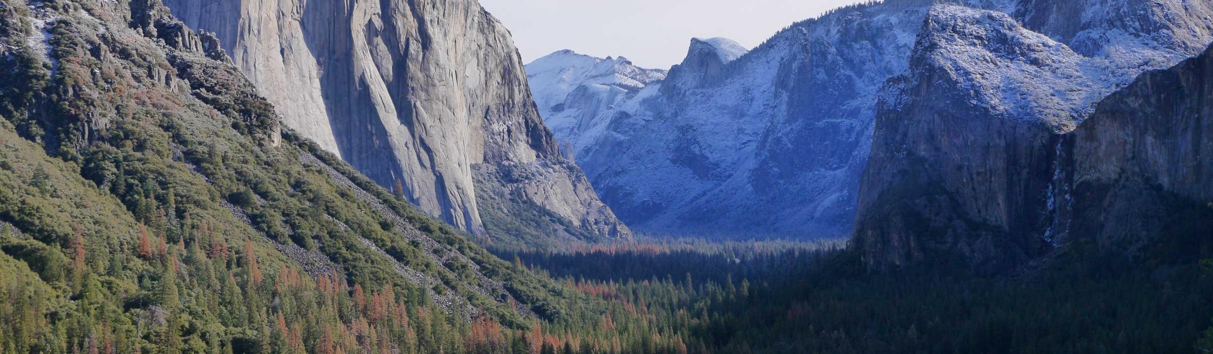 Mountains at Yosemite