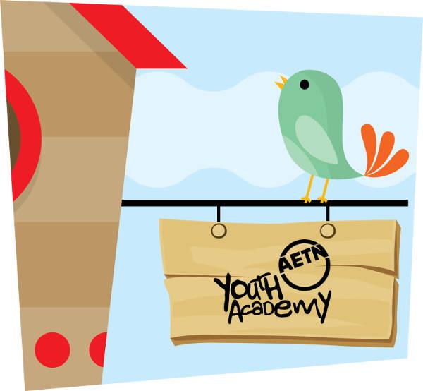 bird and birdhouse