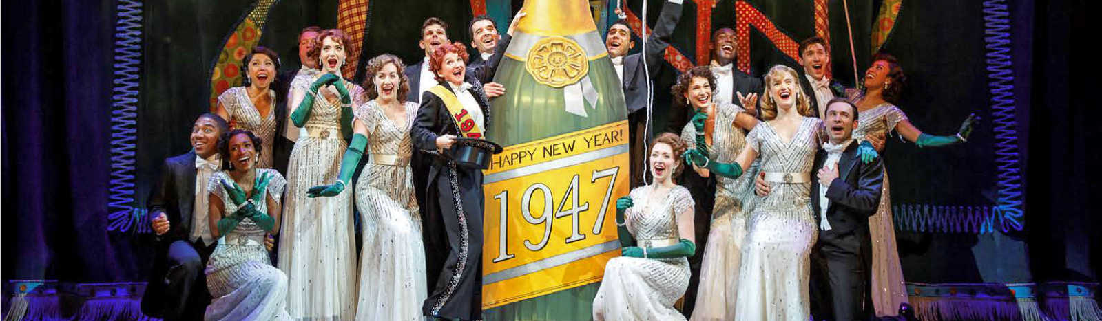 The cast of Irving Berlin's Holiday Inn - The Broadway Musical