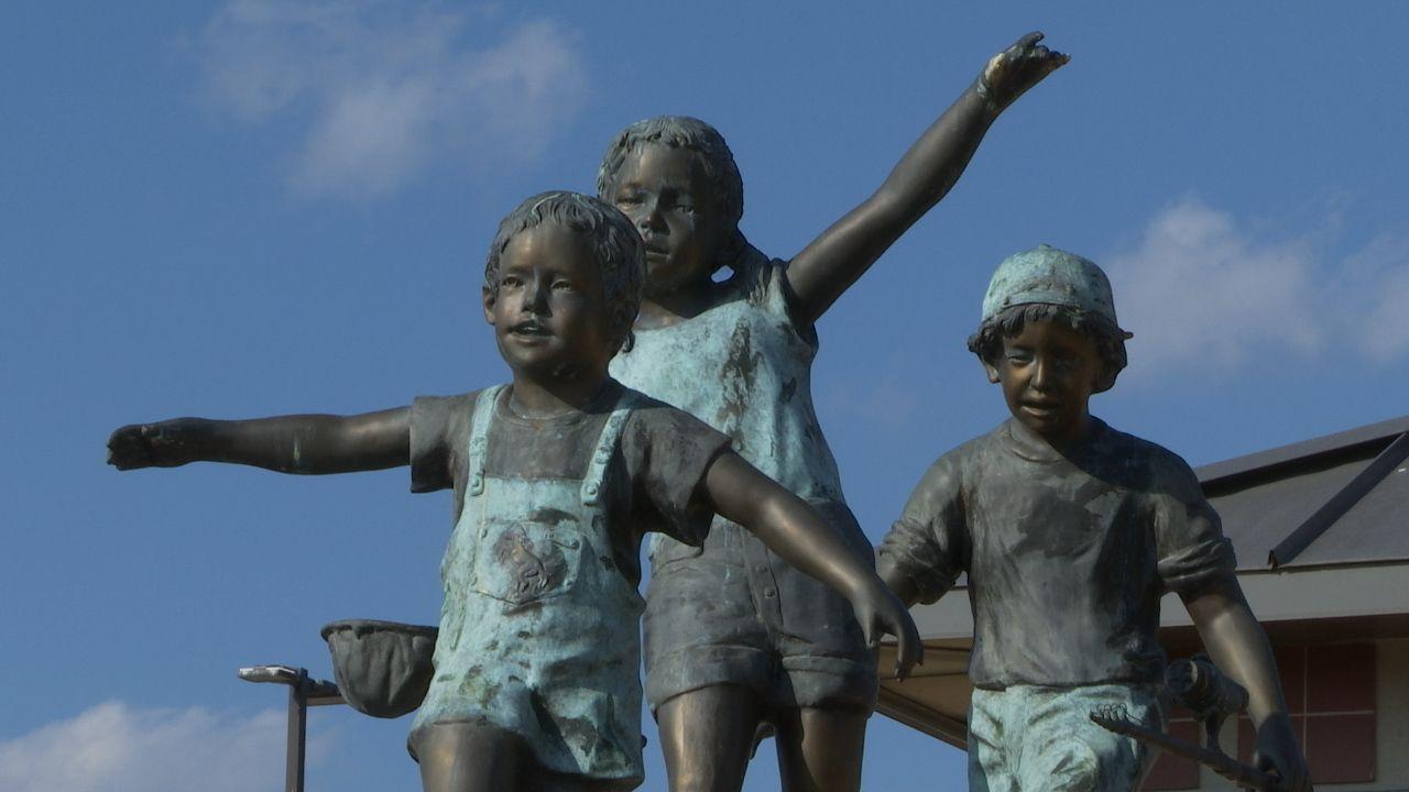 PBS NewsHour Weekend NWACS Statues
